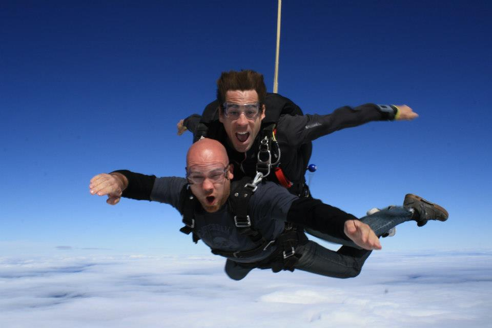 Skydiving!!!