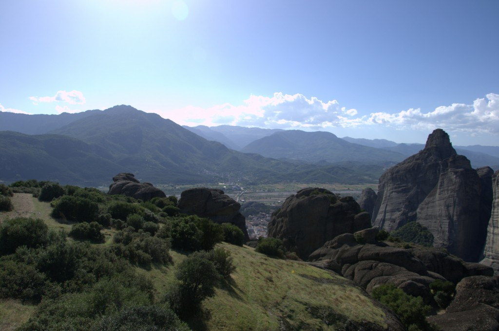 meteora and mountains