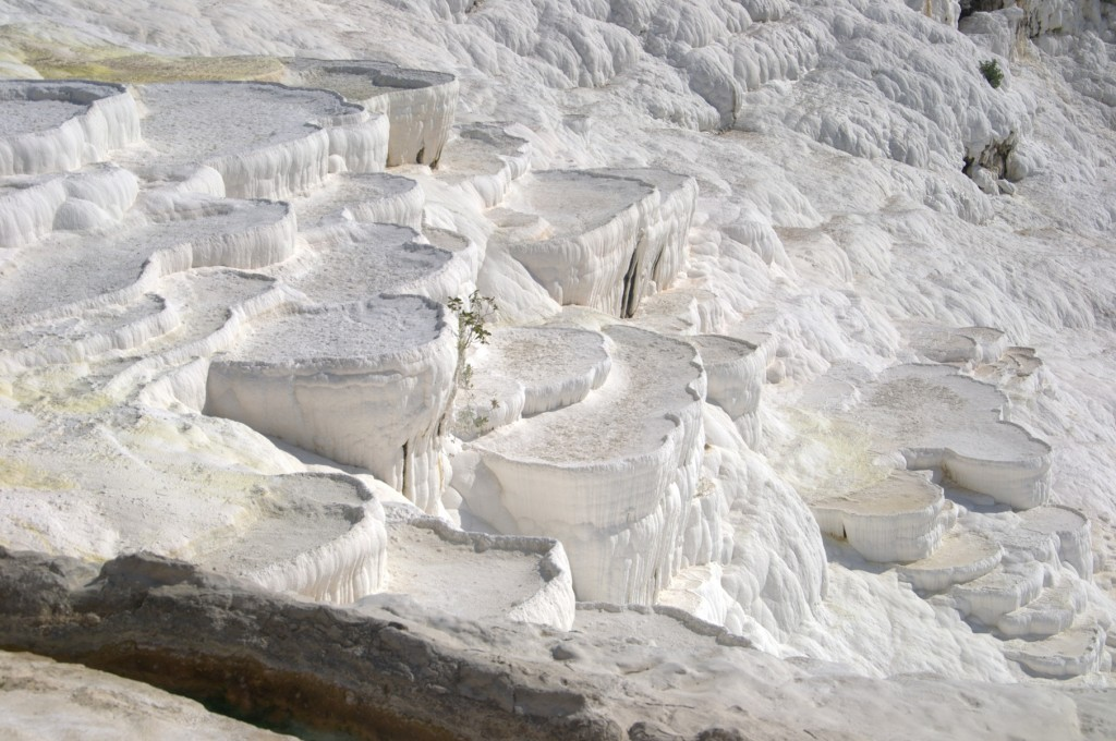 cascading travertine pools of Pamukkale