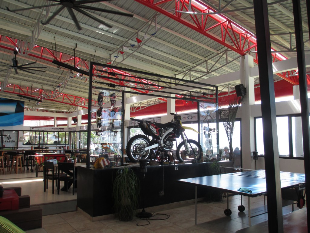 Inside Nitro City Action Sports restor Panama Restaurant