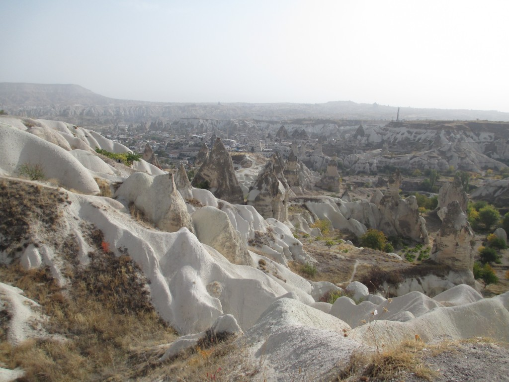 West panoramic view, Green tour of Cappadocia