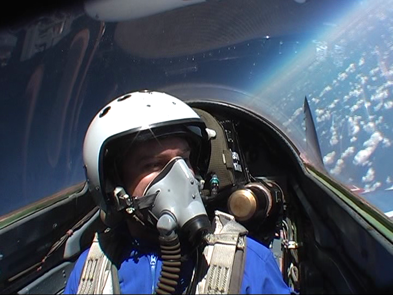 banking in the MIG-29 at the Edge of Space