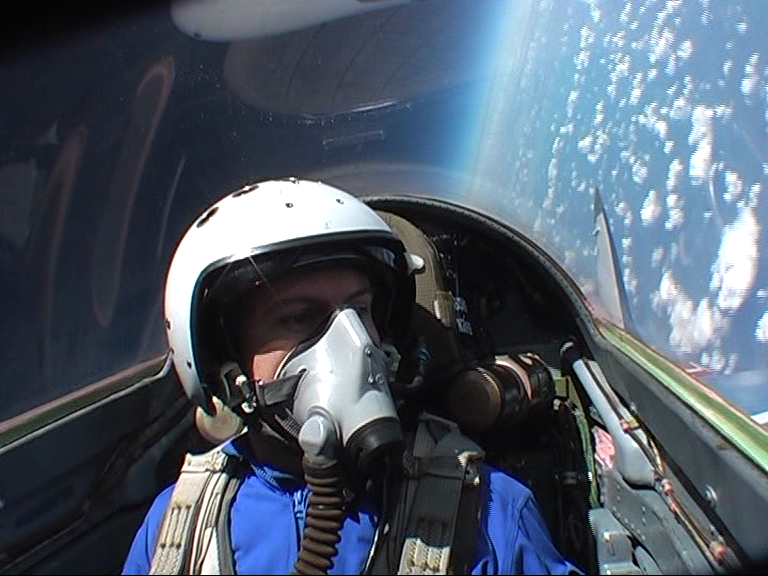 56,000 ft at the edge of space in a mig-29