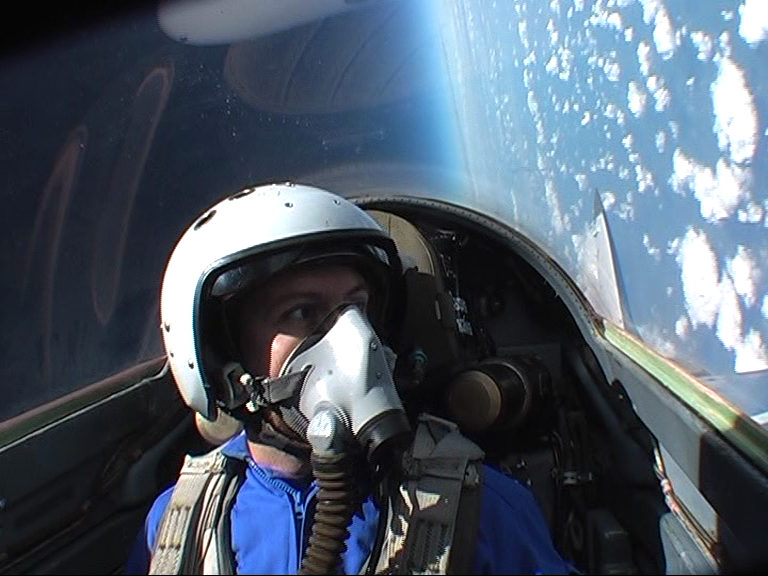 17km in the sky in a mig-29