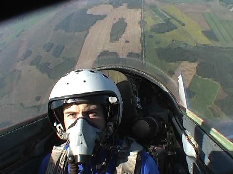 Flying in a MIG-29