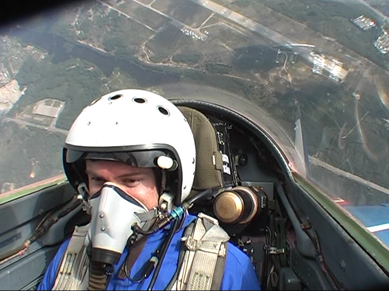 Performing a hammerhead in a MIG-29