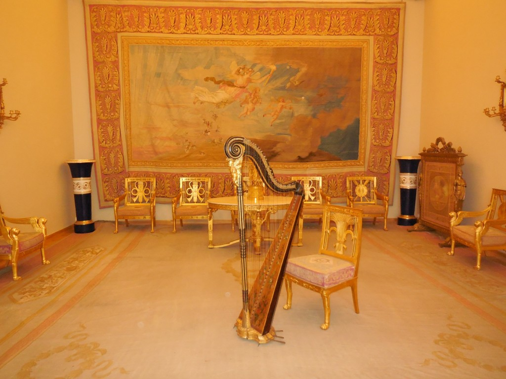 The State Hermitage Museum St. Petersburg Russia The Golden Harp Room