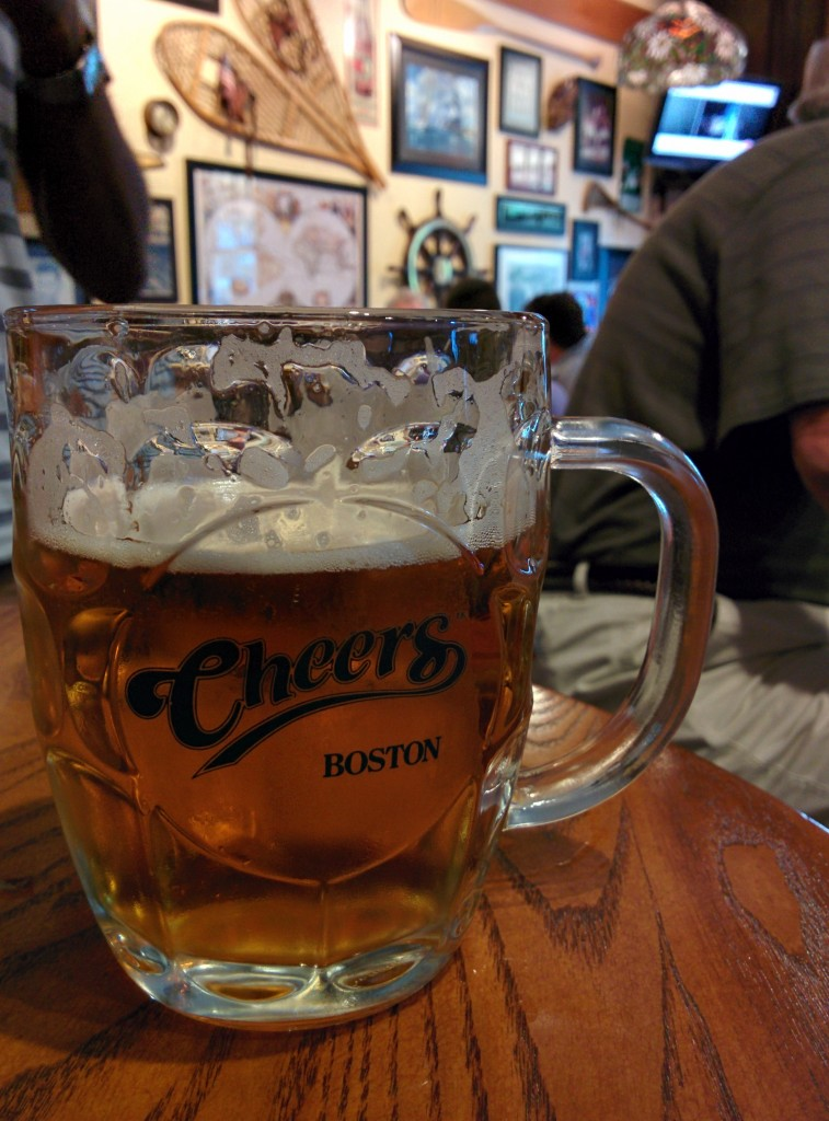 beer at cheers, Boston MA