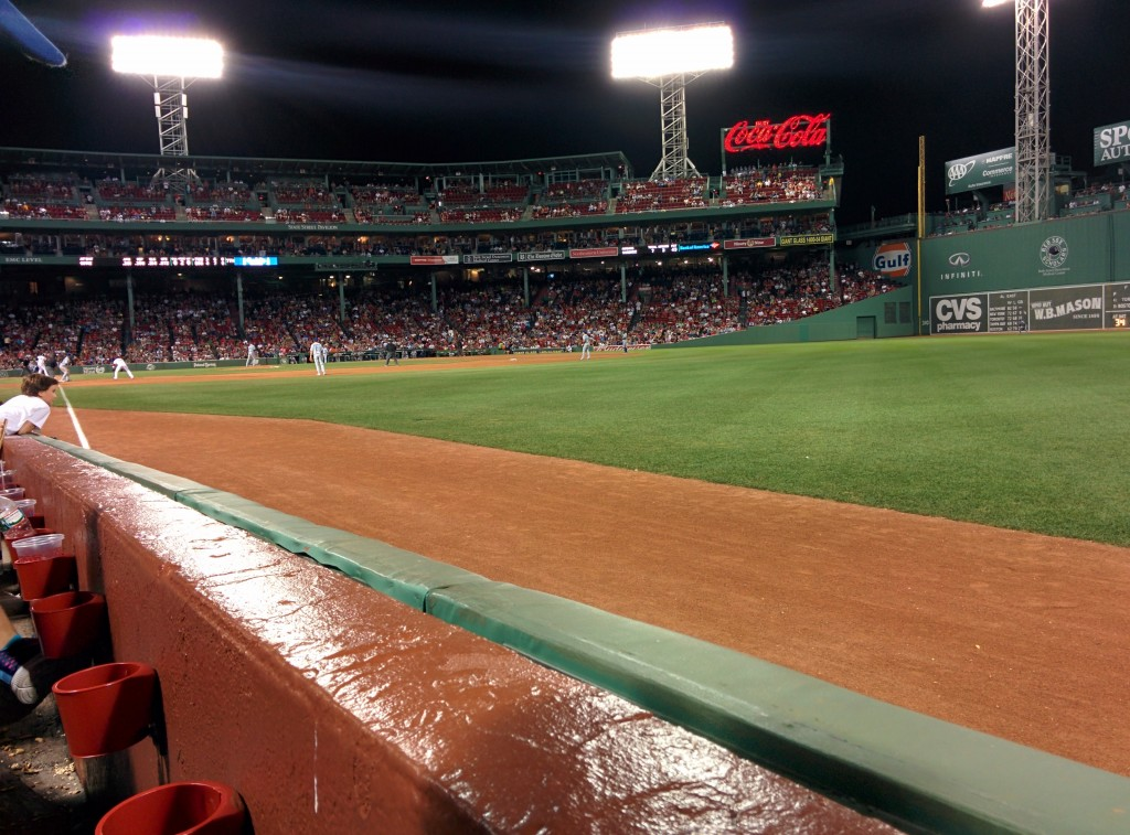 Fenway Park, Right field