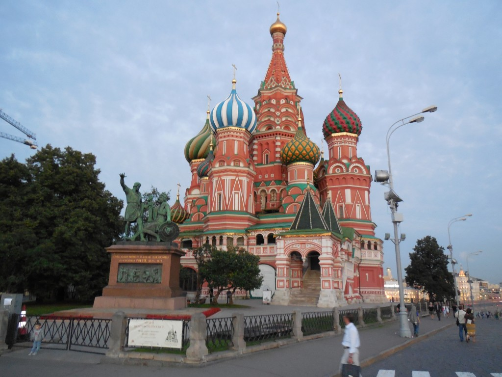 St. Basil's Cathedral, Kremlin, Moscow