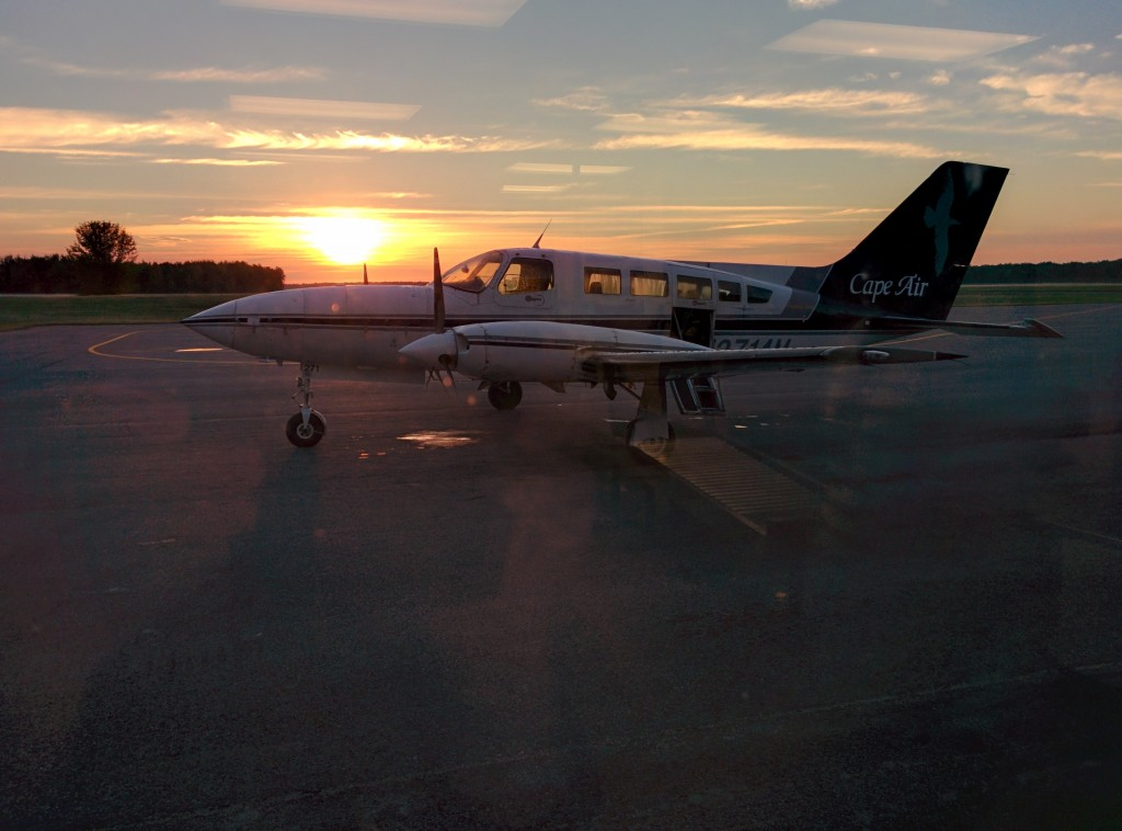 Cape Air Flight from Ogdensburg NY to Boston MA