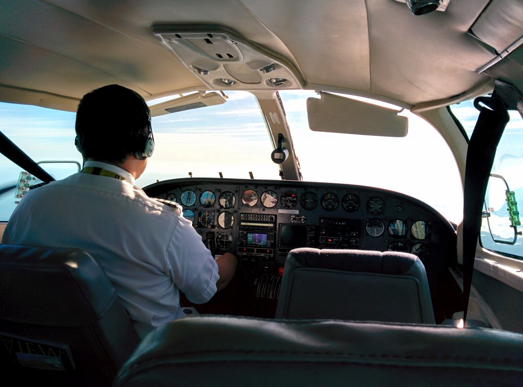 Cape Air cockpit