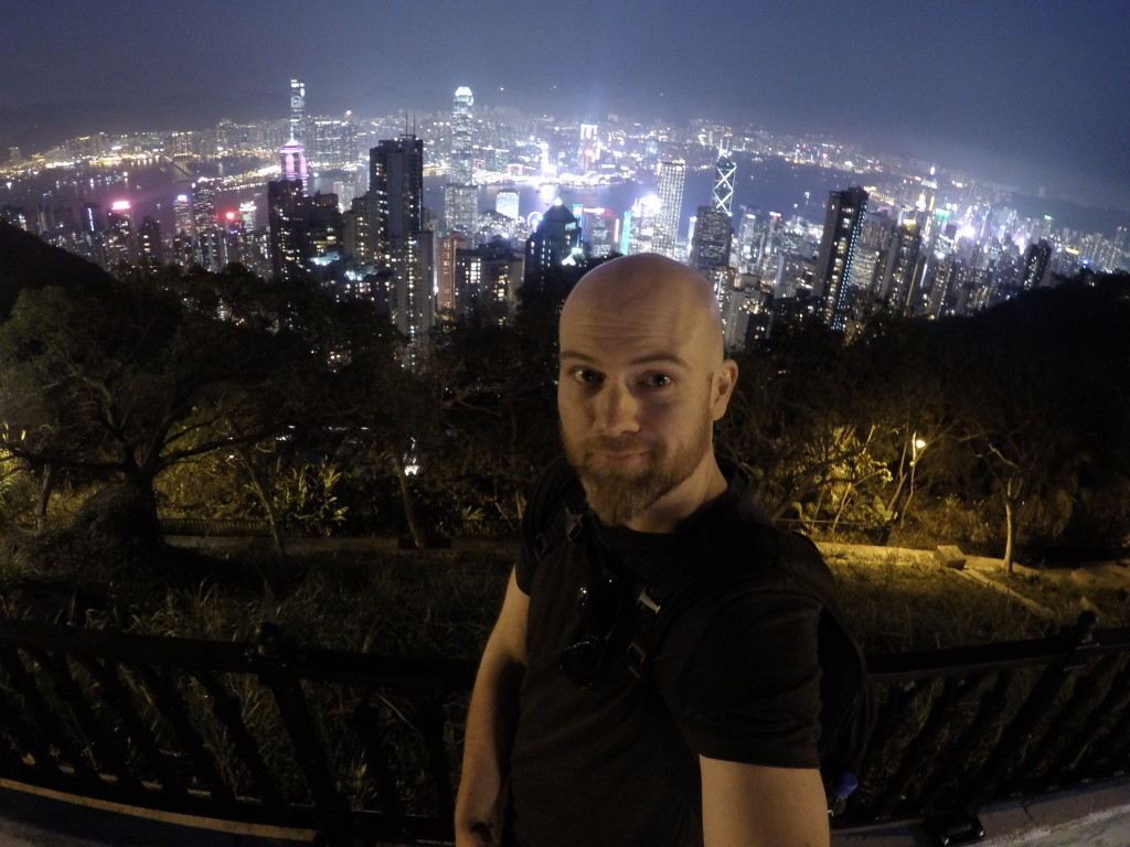 Hong Kong at Night, Hong kong sky line at night, Hong Kong selfie, the peak hong kong,