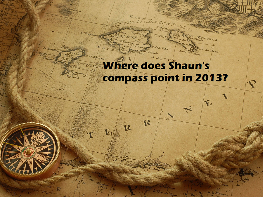 Shauns cracked compass old map logo
