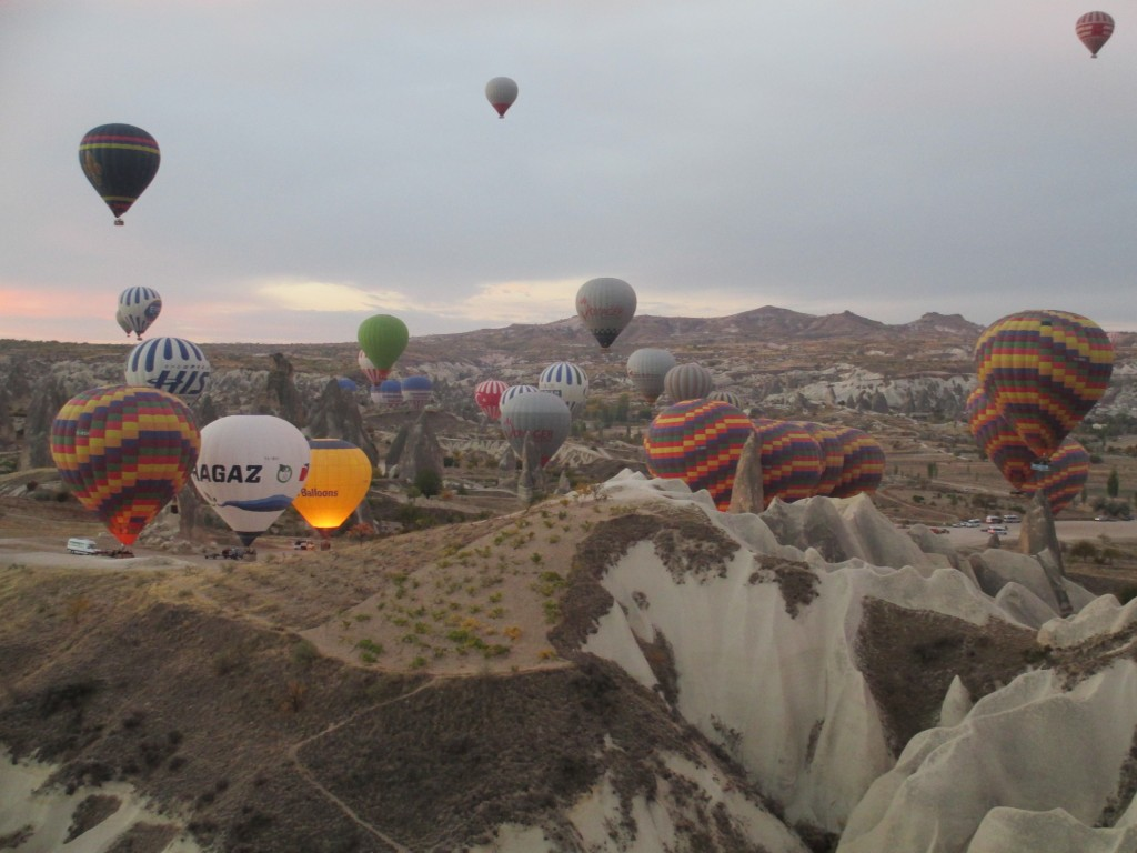 Hot Air Balloon Cappadocia early morning