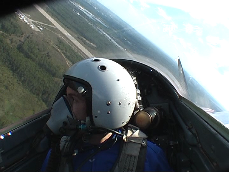 takeoff in a MIG-29 Fighter Jet