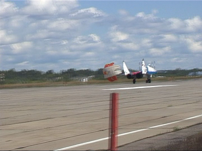 landing a Mig-29 Russian Fighter Jet