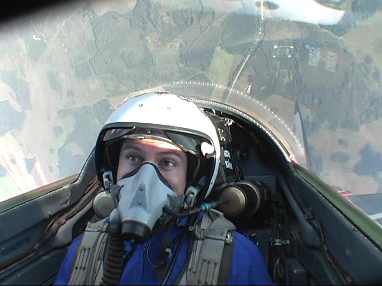pulling 7Gs in a MIG-29