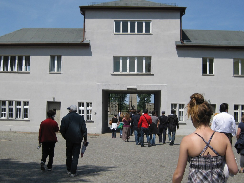 Enterence to Sachsenhausen, Concentration Camp,