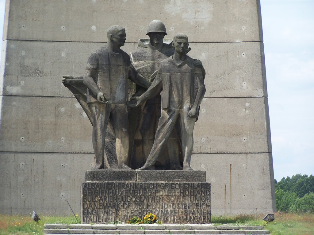 Russian monument to the liberation of Sachsenhausen Concentration Camp