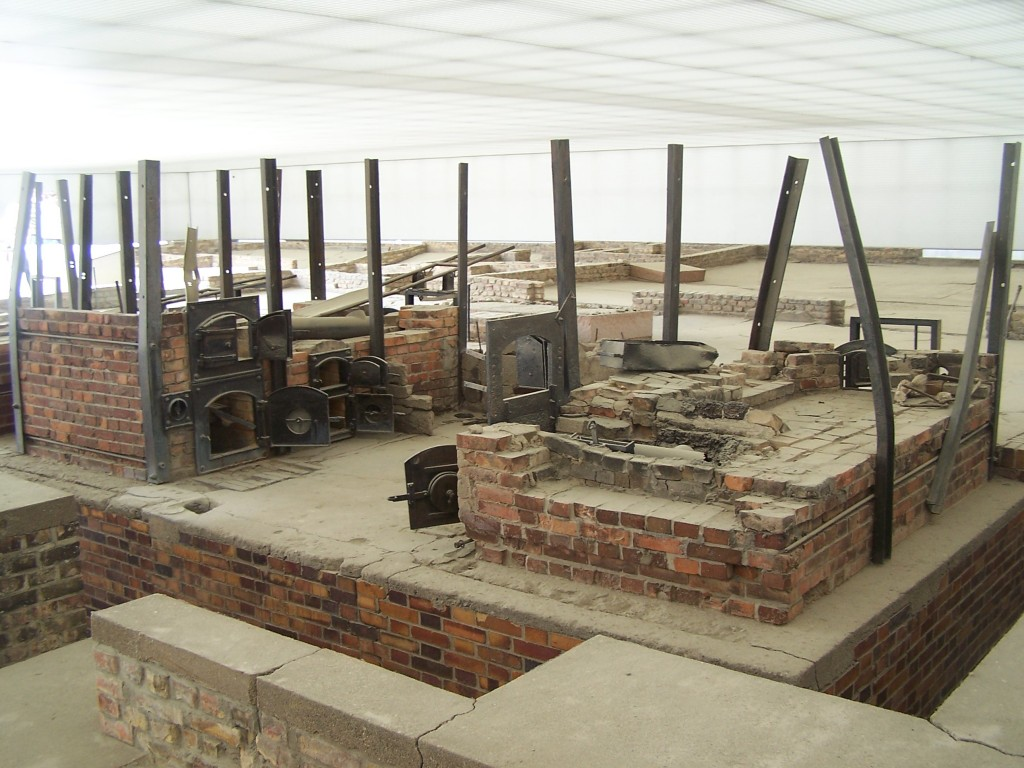 The ovens at Sachsenhausen Concentration Camp