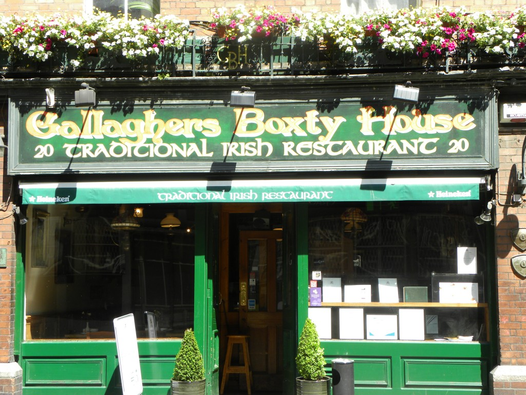 Gallagher's boxty House, Dublin
