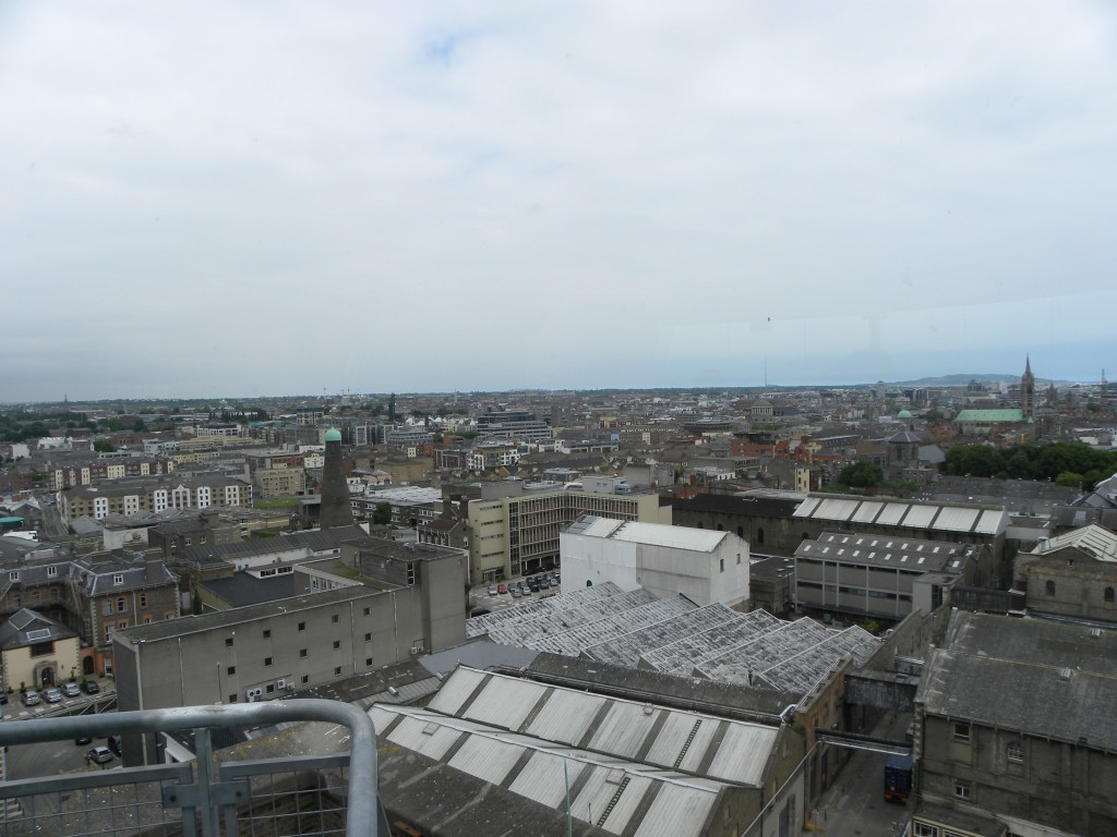 View from the Guinness Store House