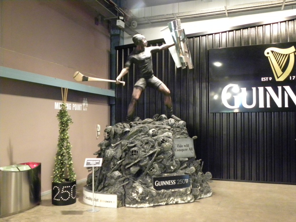 Picture of the Guinness Store House Statue