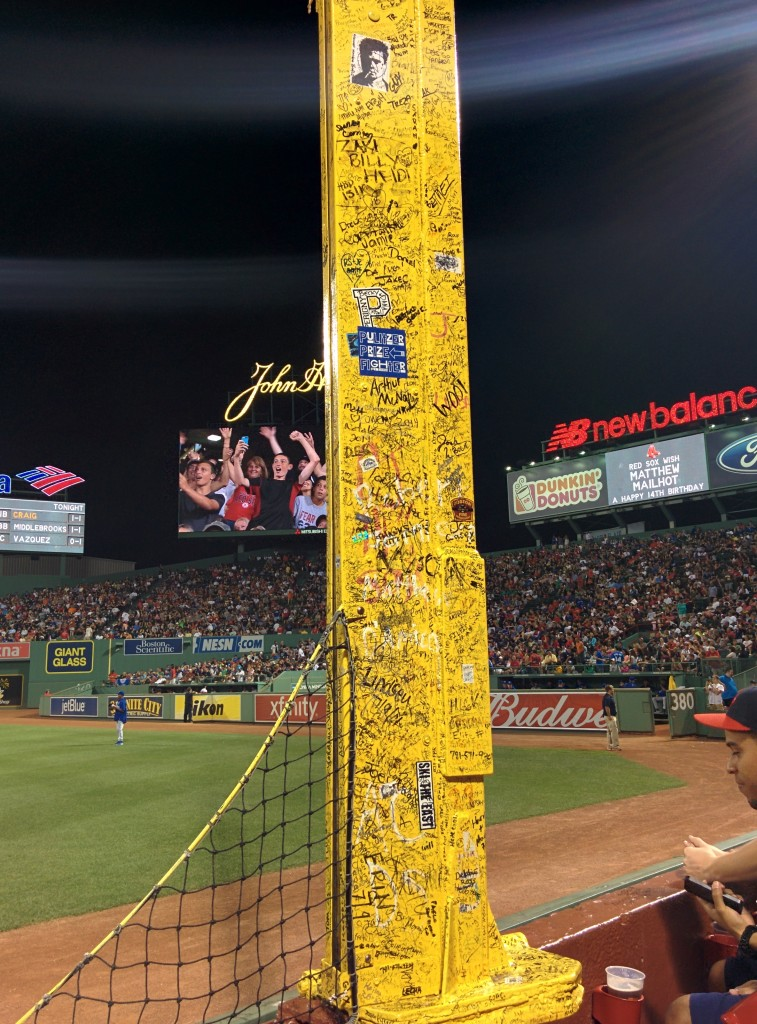 Pesky's Pole, Fenway Baseball Park, Boston
