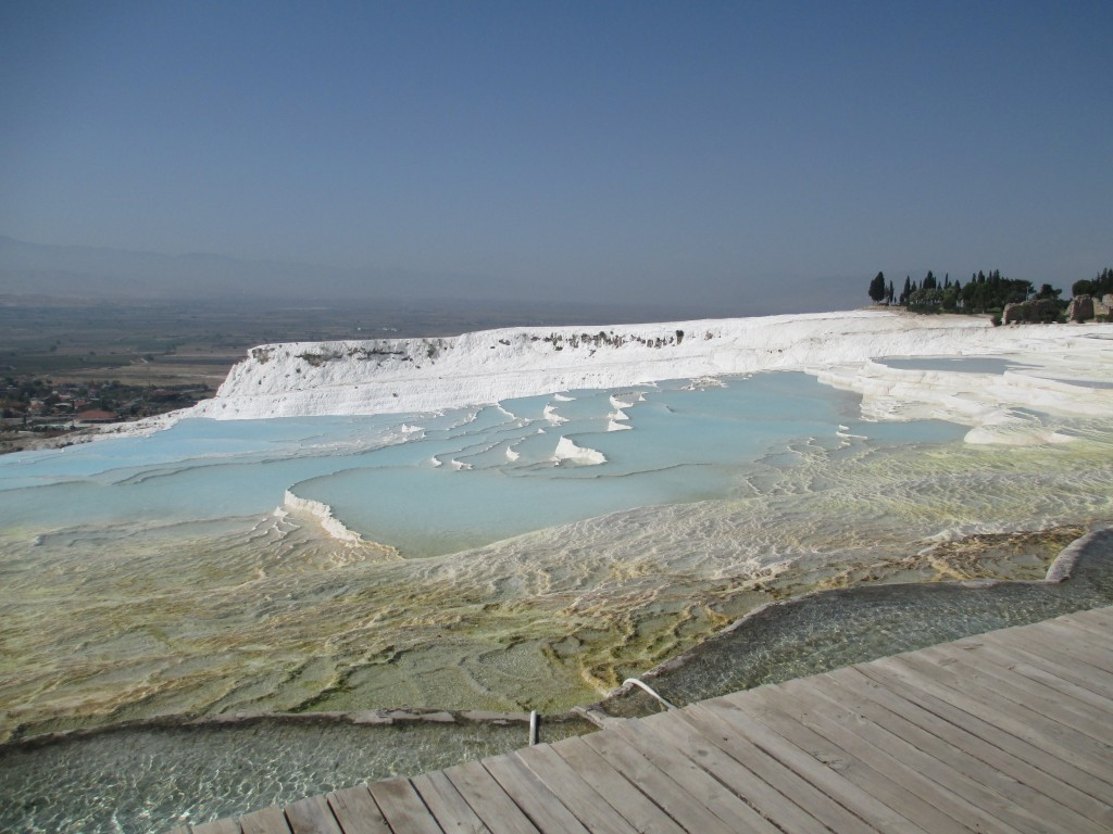 The pools at Pamukkale turkey